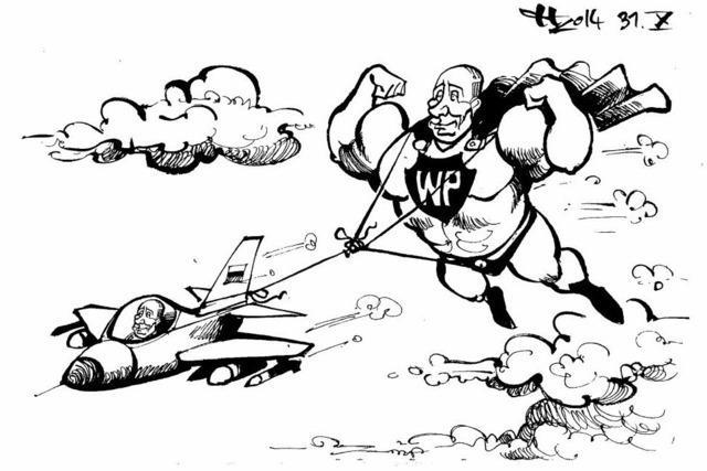Wladimirs Luftnummer