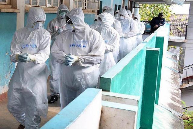Verhaltensregeln für Rückkehrer aus den Ebola-Gebieten