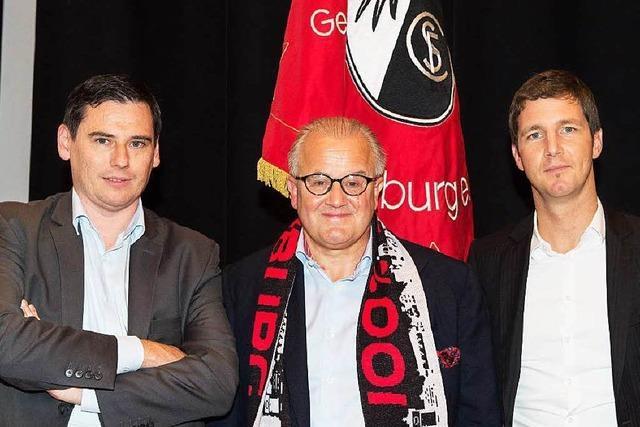 SC Freiburg: Oliver Leki und Jochen Saier nun im Vorstand