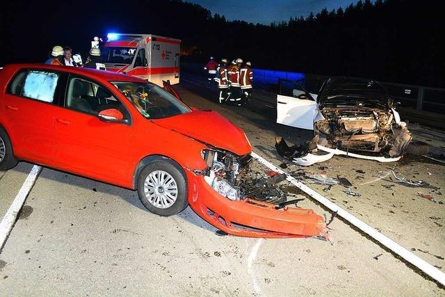 B31: Zwei Schwerverletzte bei Kollision auf Gauchachbrücke
