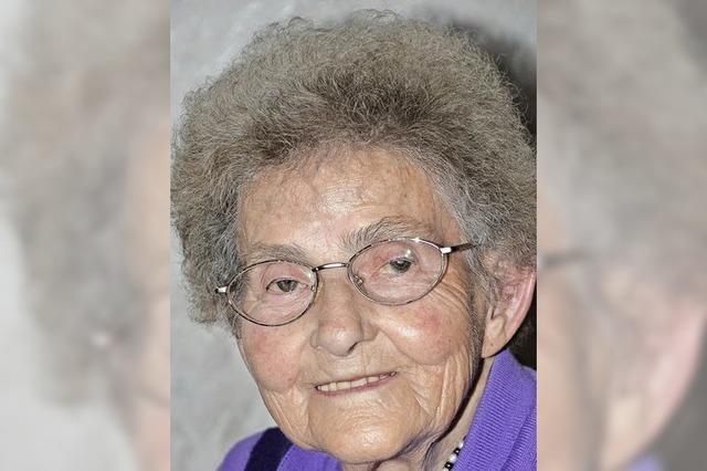 Ingeborg Grieshaber ist 85 Jahre alt