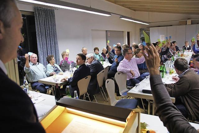 Mitglieder beschließen einstimmig Auflösung der WG Tutschfelden