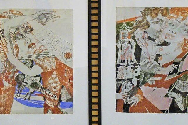 Grimmelshausen ist Ausgangspunkt der Zeichnungen
