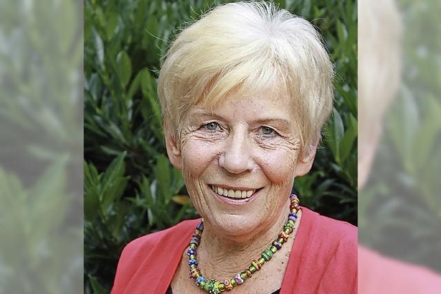 ZUR PERSON: Ehrenmedaille für Karin Kaiser