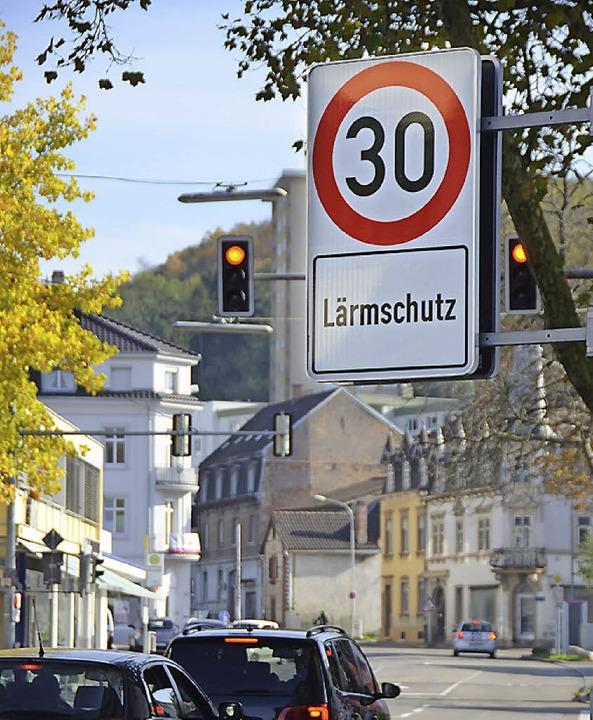 Tempo 30 in der Wallbrunnstraße soll n...Velöeinstellhalle), erhalten bleiben.   | Foto: N. Trenz