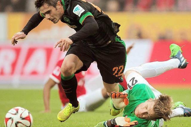 Werder Bremen gewinnt 2:1 beim FSV Mainz