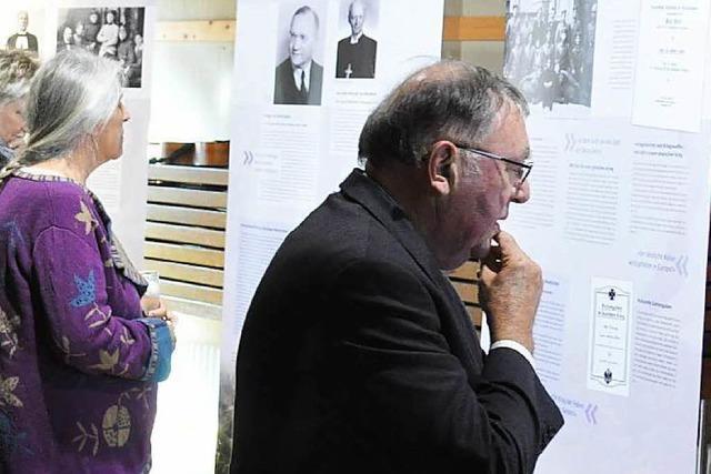Ausstellung über Kirche und Krieg