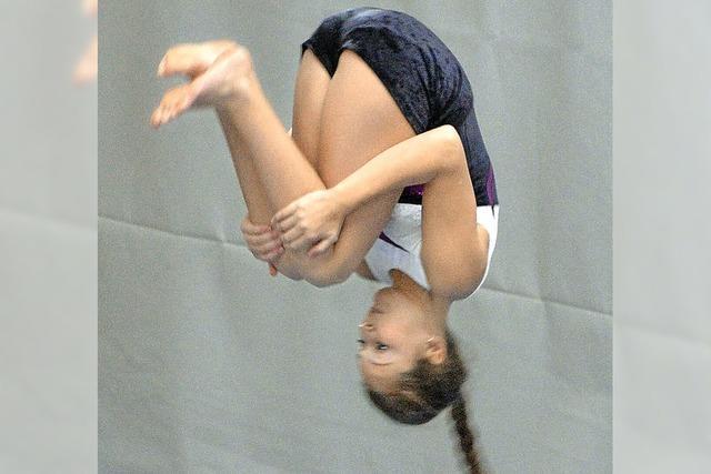 Akrobatik an vier Geräten