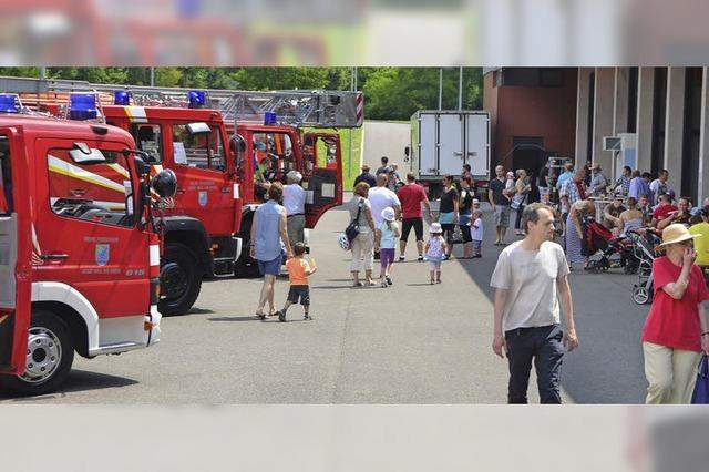 Feuerwehr feiert vier Tage