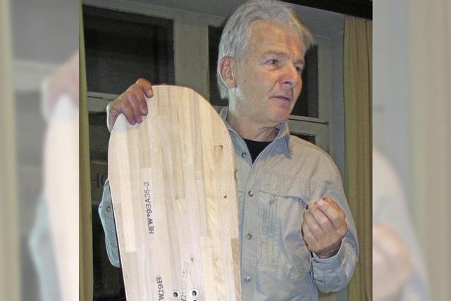 Neuer Markt: Snowboards aus Kanderner Holz