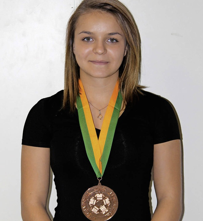Die 17-jährige Patrycia Szekely aus Freiburg  | Foto: Resetz