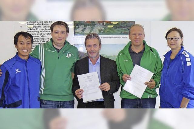 Partner: Schule und FC Zell