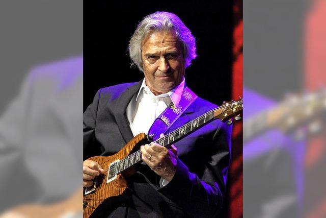 Jazz-Gitarrist John McLaughlin zu Gast in Freiburg - ein Gespräch