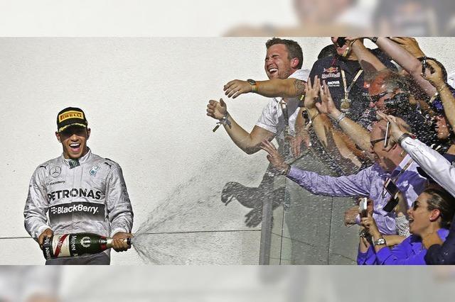Brite Lewis Hamilton ist auf dem Weg zum WM-Titel