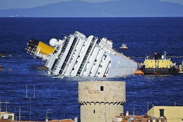 Letzter Vermisster des Costa-Concordia-Unglücks geborgen
