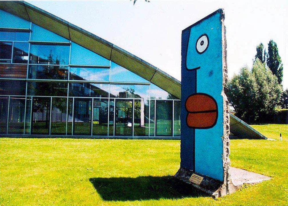 Im Burda Medien Park in Offenburg  | Foto: Peter Thomann