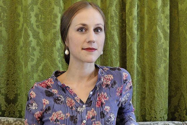 Verena Roßbacher liest beim Freiburger Literaturgespräch