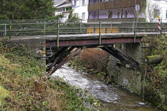 Sanierung der Naglersbrücke könnte 120000 Euro kosten