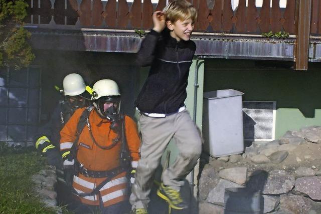 Freiwillige Feuerwehr bewährt sich in Wittlekofen