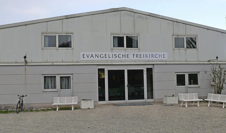 """Die """"Quelle des Lebens"""" in...in Evangelische Freikirche umbenannt.     Foto: Sylvia Bleckmann"""