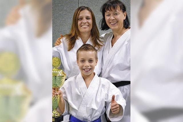 Karateschule räumt Preise ab