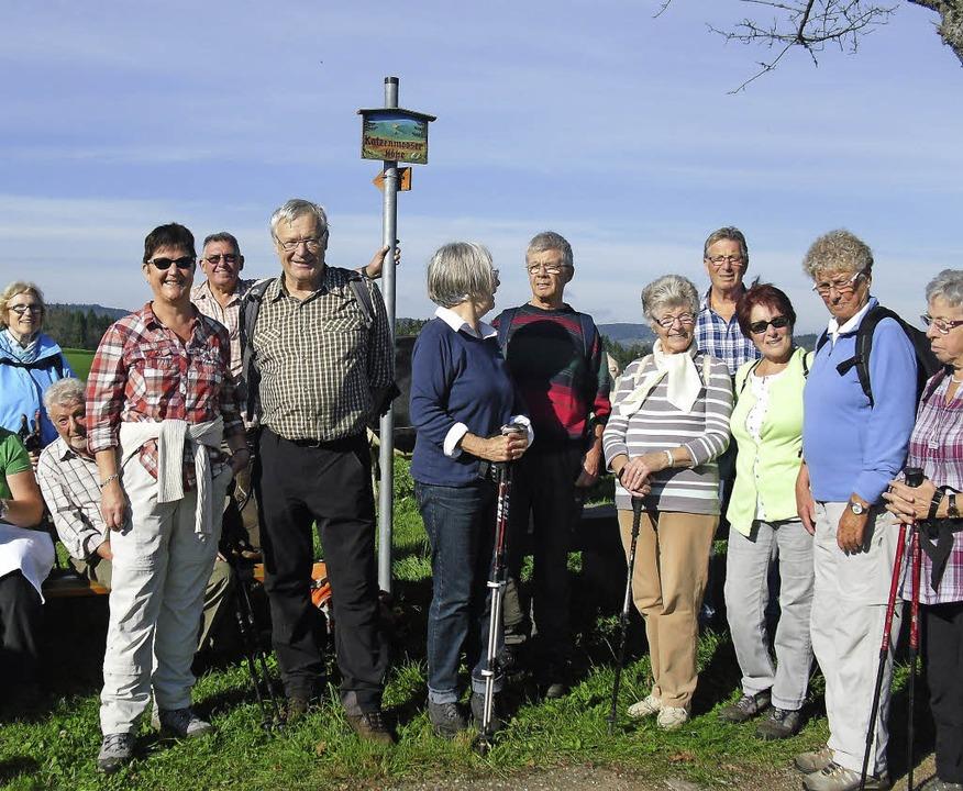 Naturfreunde und Schwarzwaldverein wanderten gemeinsam.   | Foto: Privat