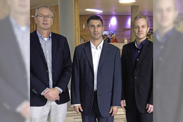 Neue Chefs in der Aqualon-Therme