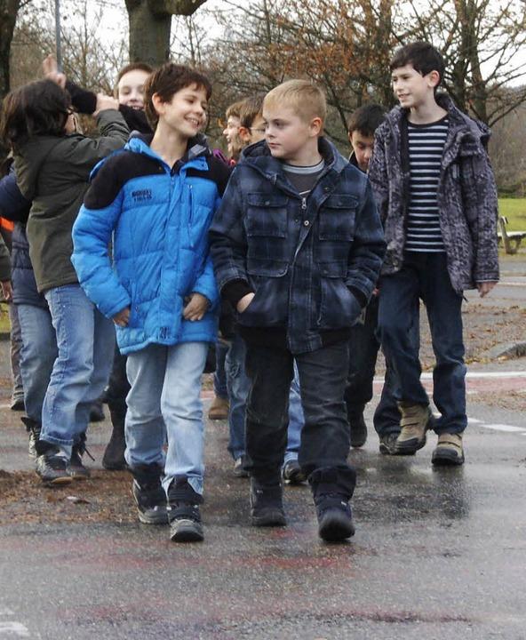 Etliche Schüler aus Rheinfelden nehmen  längere Schulwege nach auswärts in Kauf.  | Foto: Archiv: Gerigk