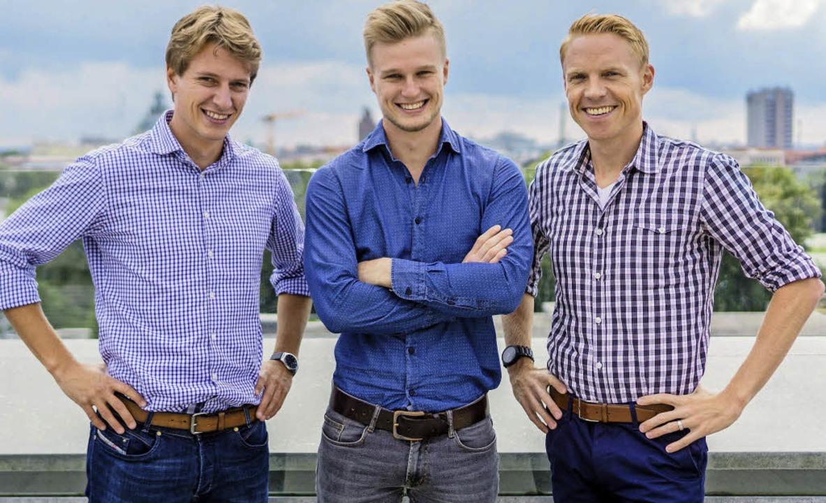 Die Holidu-Gründer (v.l.):  Johannes u...hr Geschäftspartner Rasmus Porsgaard.     Foto: privat