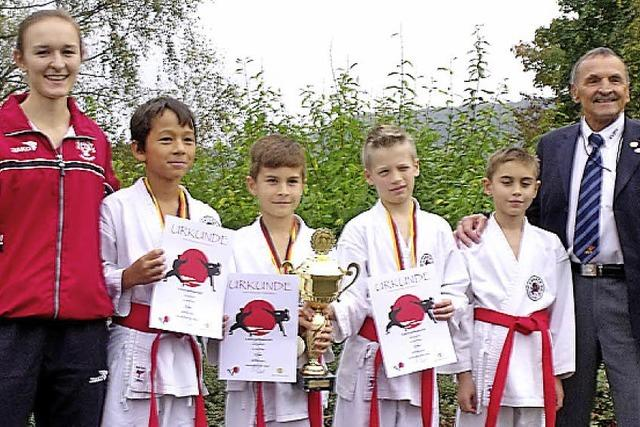 Titel für junge Karateka