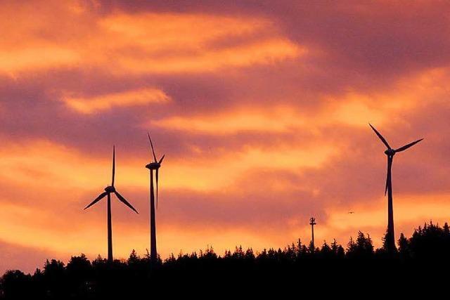 Regionalverband benennt 30 Standorte für Windräder