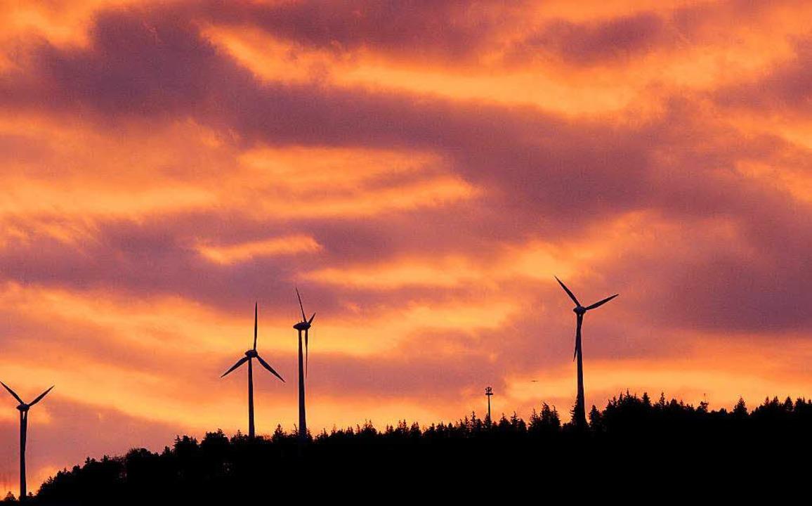 Windräder bei Freiburg    Foto: dpa
