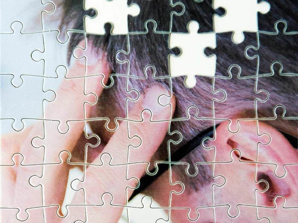 Vergessen gehört für ältere Menschen z... könnte es auf eine Demenz hinweisen.   | Foto: tmn