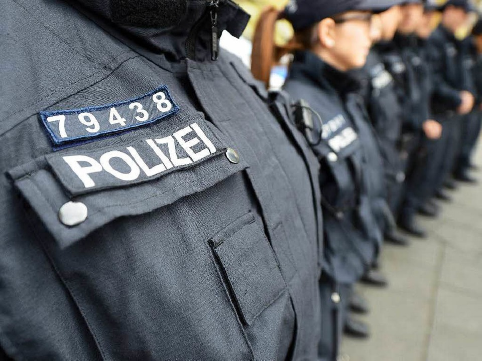Eine Nummer für Polizisten.    Foto: dpa