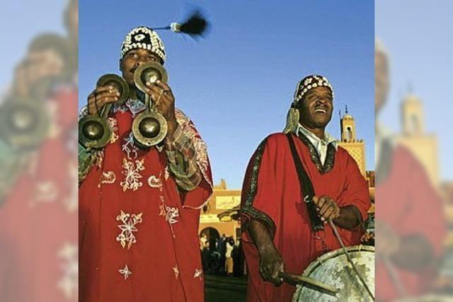Orientalische Exotik in Marokko