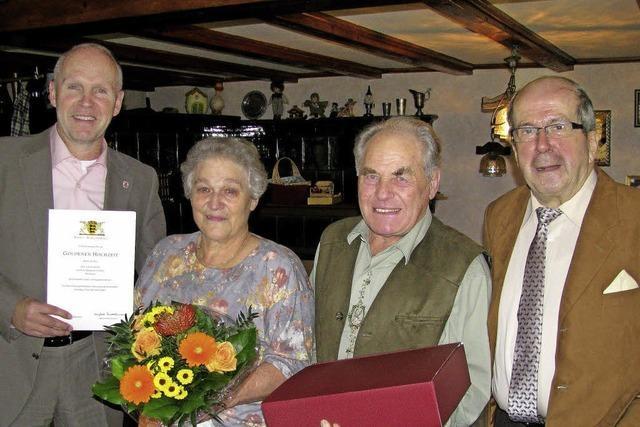 Margareta und Adolf Dietsche feiern goldene Hochzeit