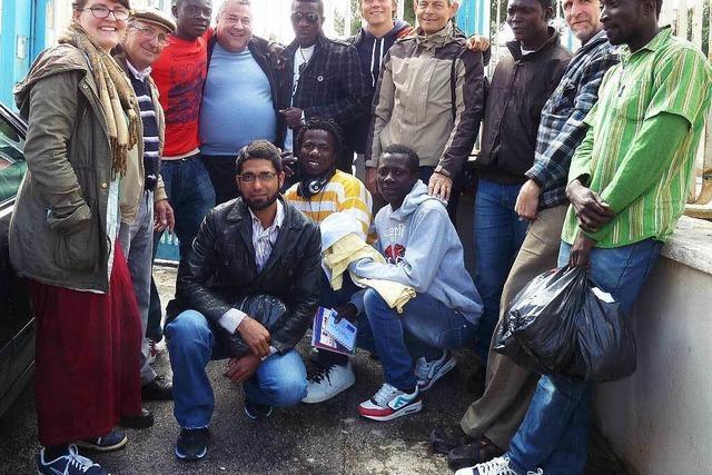 Sammeltag für Flüchtlingshilfe