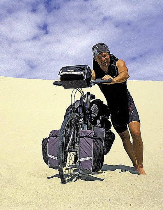 Unterwegs im dem Rad: Dirk Rohrbach   | Foto: Veranstalter