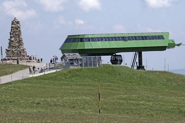 Rekord bei der Feldbergbahn - 152.809 Beförderungen im Sommerbetrieb