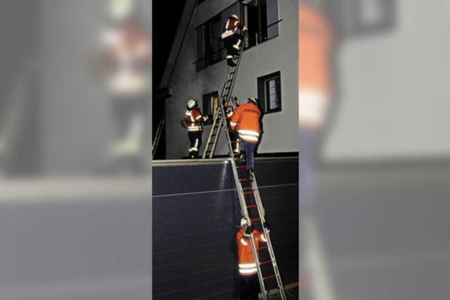 Feuerwehr ist für den Ernstfall gerüstet
