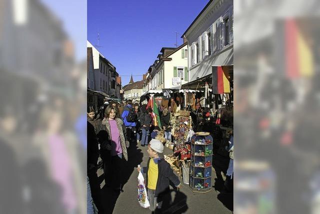 Jahrmarkt in der Stadt