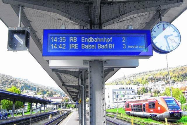 Ein Drittel aller Züge soll fahren