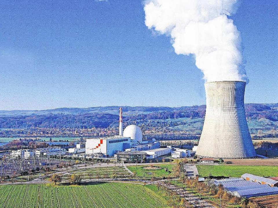Das Kraftwerk an der deutschen Grenze ...e Mitarbeiter künftig besser betreuen.  | Foto: KKL