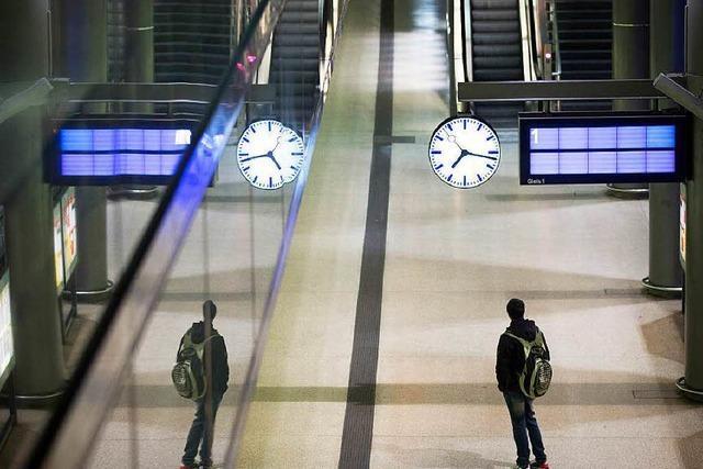 Bestandsaufnahme: Der Bahnstreik im Südwesten, Tag eins