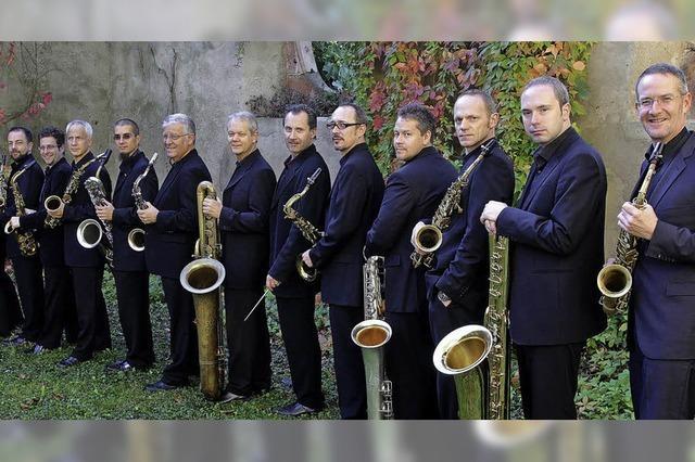 Raschèr Saxophone Orchestra gastiert in Waldshut