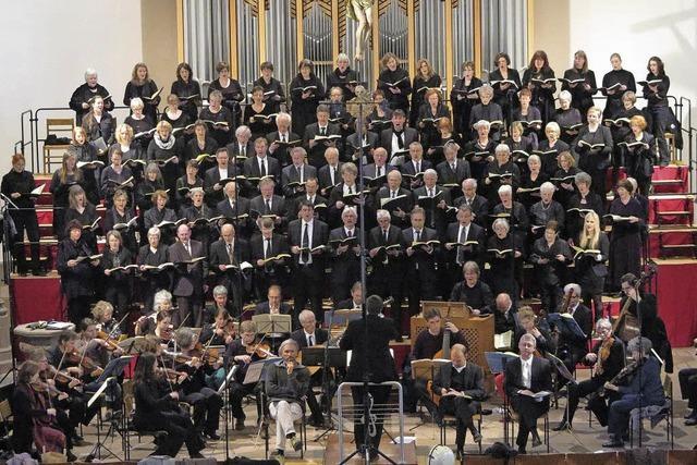 Kantorei Schopfheim führt in Schopfheim das Oratorium
