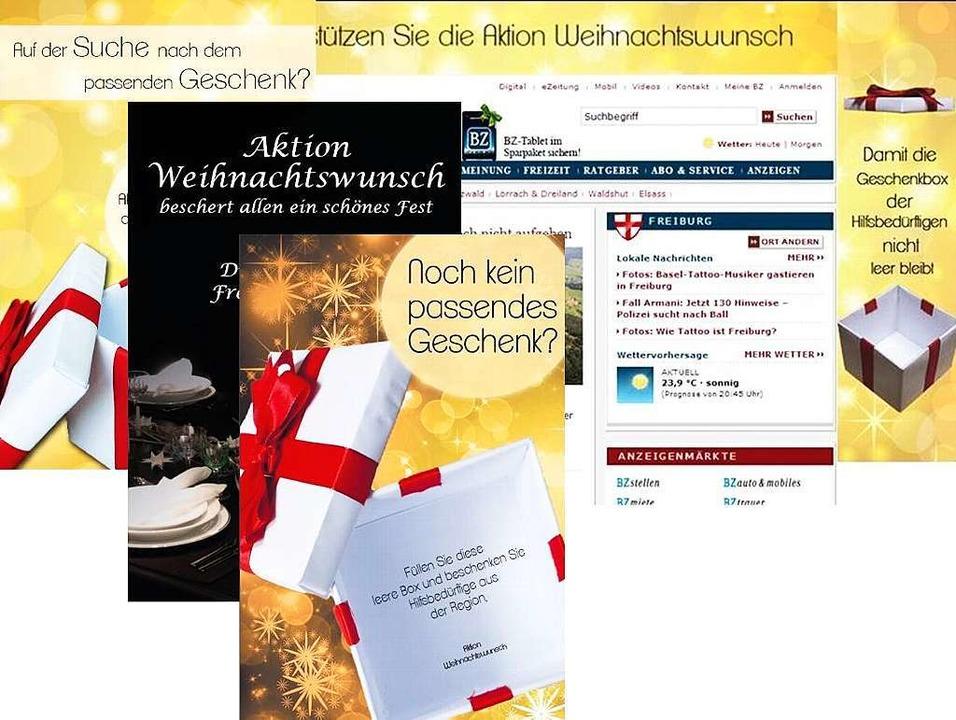 Den Preis in der Nachwuchskategorie &#...ne für die BZ-Aktion Weihnachtswunsch.  | Foto: bz