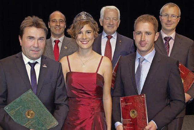 Drei Ehrenpreise für den Kaiserstuhl