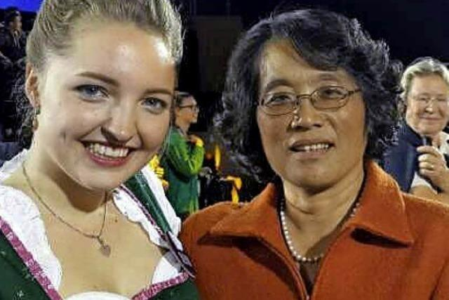 Weltmeisterin: Kollegsschülerin gewinnt Chinesisch-Wettbewerb