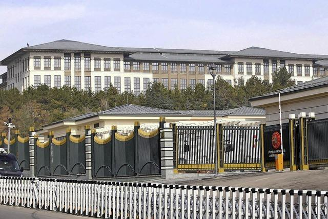 Erdogans Palast kostet 455 Millionen Euro